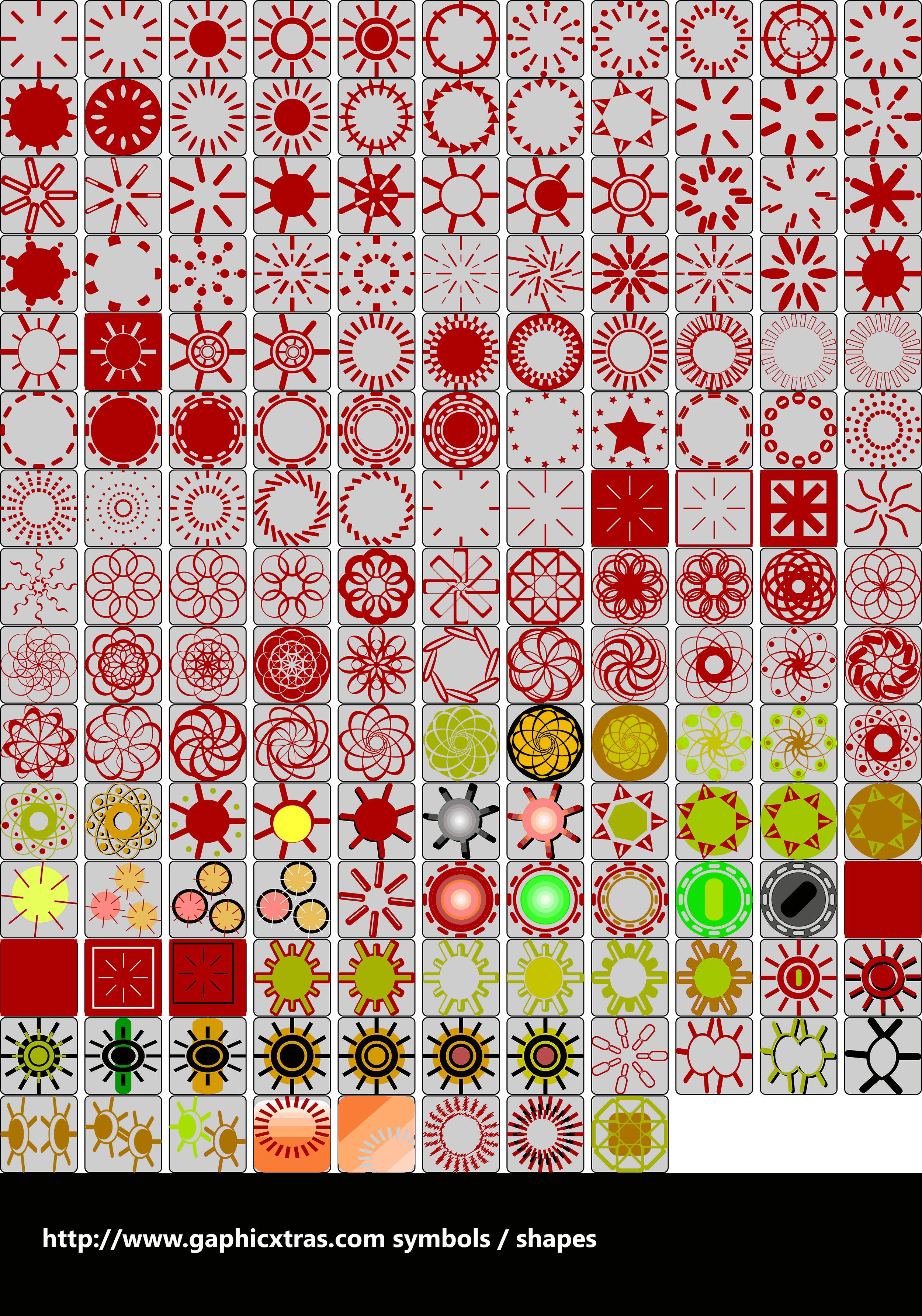 Circle symbols royalty free circle symbols biocorpaavc
