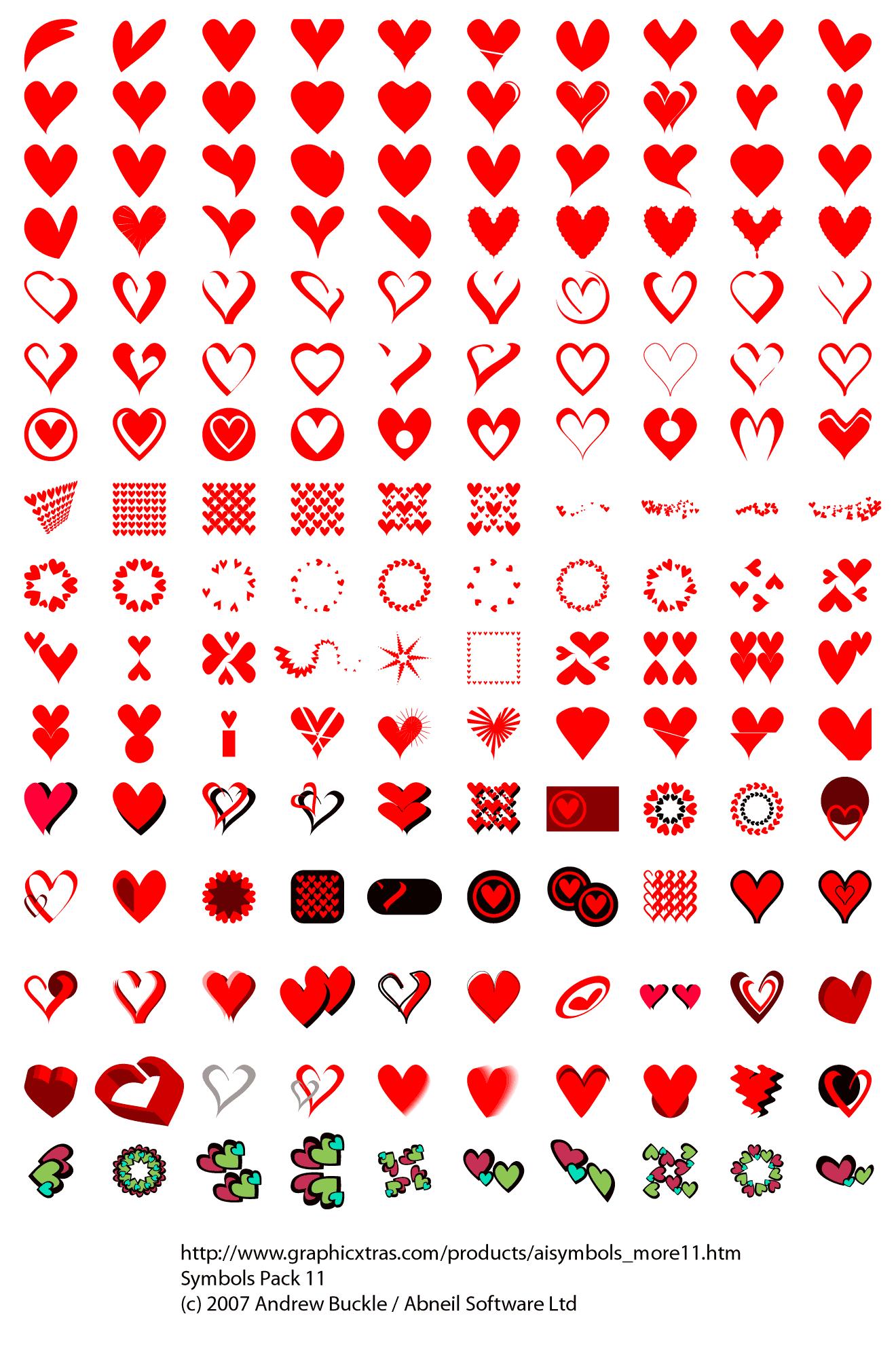Heart symbols royalty free heart symbols biocorpaavc